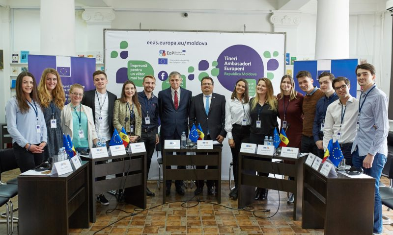 "Second edition of the ""Young European Ambassadors"" campaign"