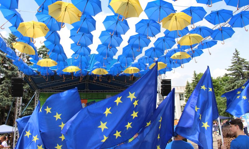 Large-scale events on the occasion of Europe Day