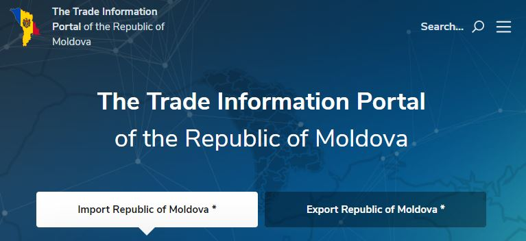 Development of infographics for www.trade.gov.md